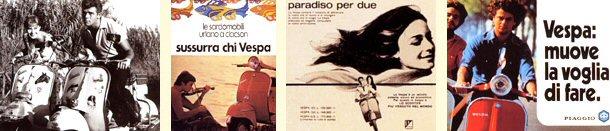 A Vespa e os filmes